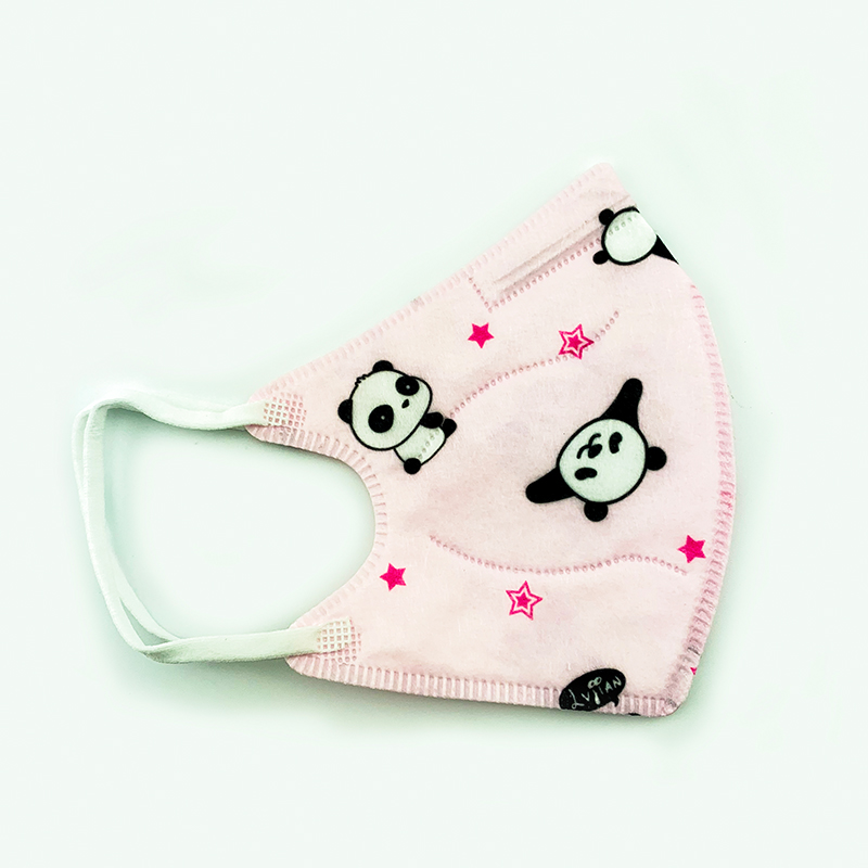 10PCS Baby Protective Gauze Mask Cotton Gauze Mask Breathable Comfortable for Kids Children Layers Gauze Masks Anti-fog PM2.5 1