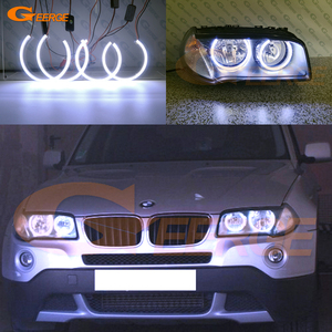 Image 1 - Excelente COB led Ultra brillante, Ojos de Ángel, anillos de halo, estilo de coche para BMW E83 X3, lifting facial 2007 2008 2009 2010