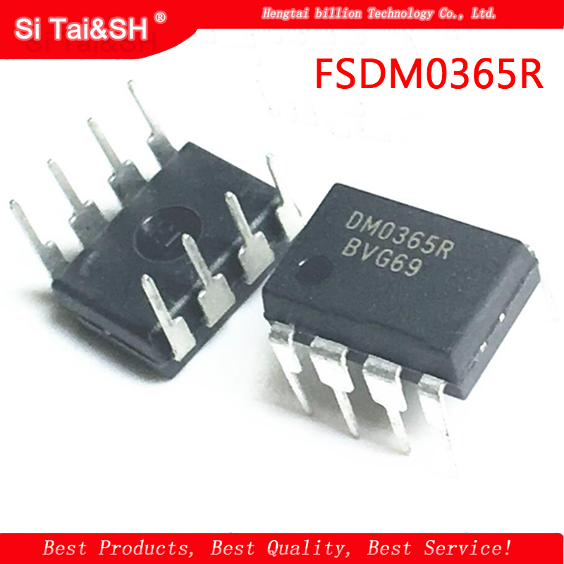 10PCS FSDM0365R DM0365RB DM0365R Brand new original LCD power management chip DIP8(China)