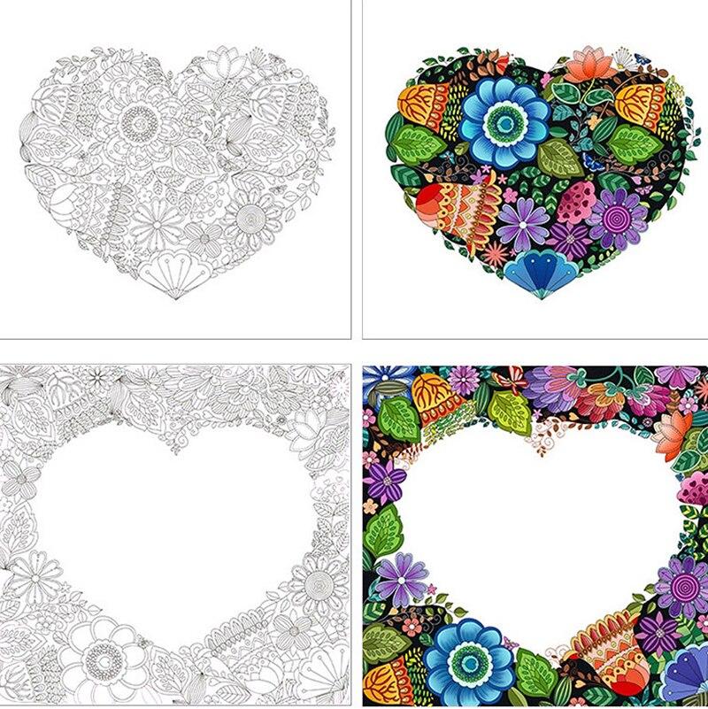 8 Uds. Una variedad de graffiti pintados A mano para colorear libros para niños adultos alivio estrés matar tiempo pintura libro de dibujo artístico