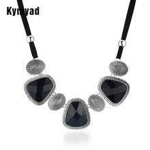 Винтажный чокер kymyad массивное ожерелье женская бижутерия
