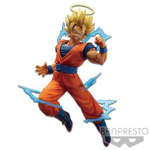 Image 3 - RORONOA Original Banpresto Dragon Ball Super Burst การต่อสู้ Goku Majin Vegeta SSJ2 PVC Action FIGURE ตุ๊กตารุ่นสะสมของเล่น