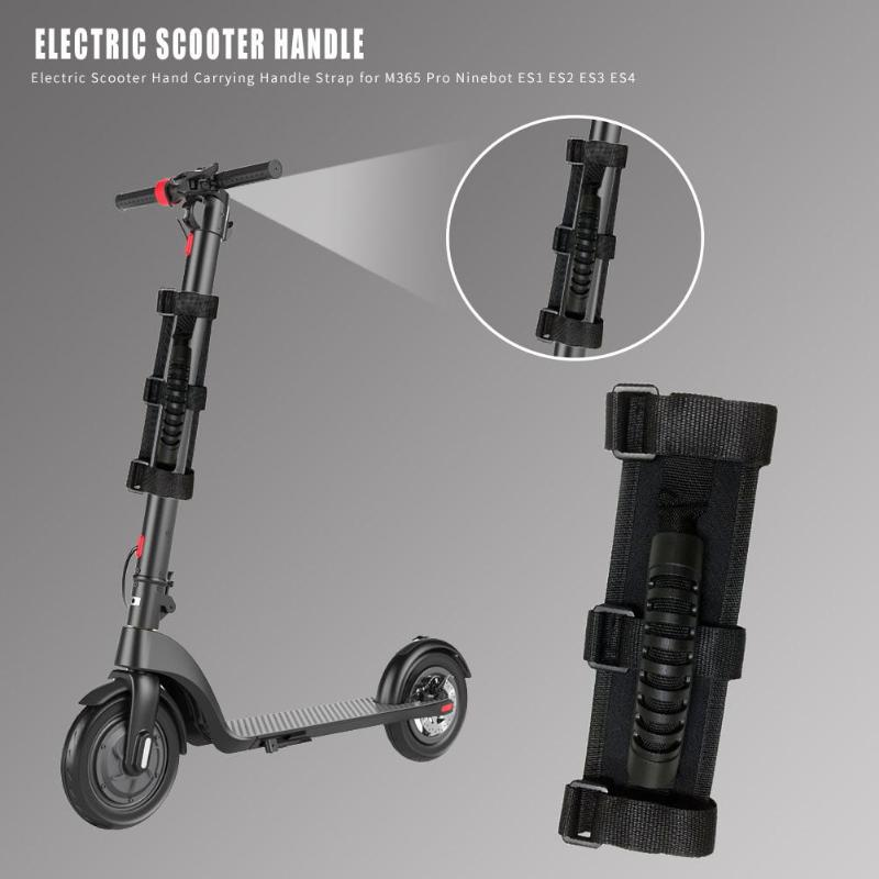 Electric Scooter Hand Carrying Handle Strap For M365 Pro Ninebot ES1-ES4 Electric Scooter Bicycle E-bike Motorcycle Accessories