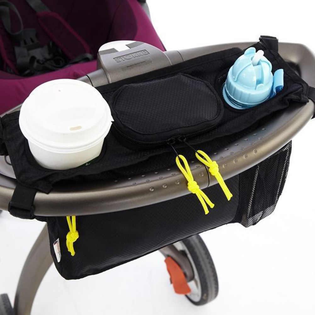 Portátil cochecito de bebé cochecito carro bolsa de almacenamiento botella de leche botella de pañal bolsa de bebé de seguridad de alta calidad portador Accesorios