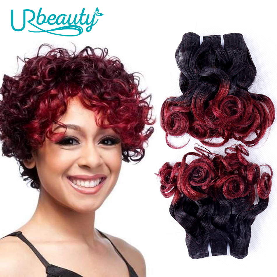 25g/bundle UR Beauty Wavy Human Hair Bundles Medium Ratio 10