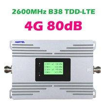 4G LTE TDD B38 repeater 2600 MHZ Band 38 TD LTE + Handy signal verstärker internet netzwerk modem booster 0,5 watt 27dBm 80db