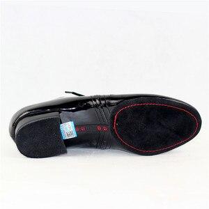 Image 4 - 새로운 모델 남자 표준 댄스 신발 bd319 분할 단독 전문 볼룸 댄스 구두 댄스 스포츠 빛나는 안티 슬라이드 구두