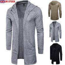 New brand men's cardigan hoodie sweatshirt long-sleeved slim men's zipper hoodie jacket casual striped stitching jacket