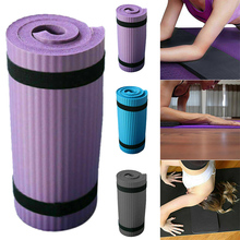 Hot Sale Yoga Pilates Mat Thick Exercise Home Gym Non-Slip Workout 15mm Fitness Mats Durable Knees Back Ankles Support