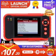 STARTEN X431 CRP123 OBD2 EOBD automotive scannerABS Airbag SRS Transmission Motor Auto Diagnose Werkzeug Mehrsprachige freies update