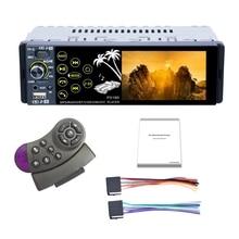 Автомобильный мультимедийный стерео MP5-плеер с IPS-экраном, полносенсорным дисплеем, двумя USB-портами, Bluetooth, TF-картой, FM-радио приемником