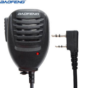 Mic-Microphone Radio Walkie-Talkie BF-V9 Pofung Baofeng Speaker Portable Original