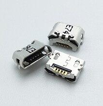50pcs Micro USB Charging Port Dock Connector Socket For Huawei Ascend 4X 4X Y6 4A P8 C8817 P8 max P8 Lite 4C 3X Pro G750-T20