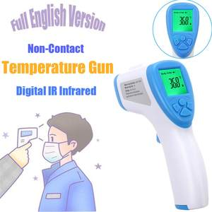 Digital-Thermometer Lcd-Backlight Forehead Baby Adult Infrared Non-Contact