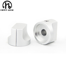 HIFI الصوت أمبير الألومنيوم حجم المقبض 1 قطعة قطر 20 مللي متر الارتفاع 15 مللي متر مكبر للصوت الجهد المقبض
