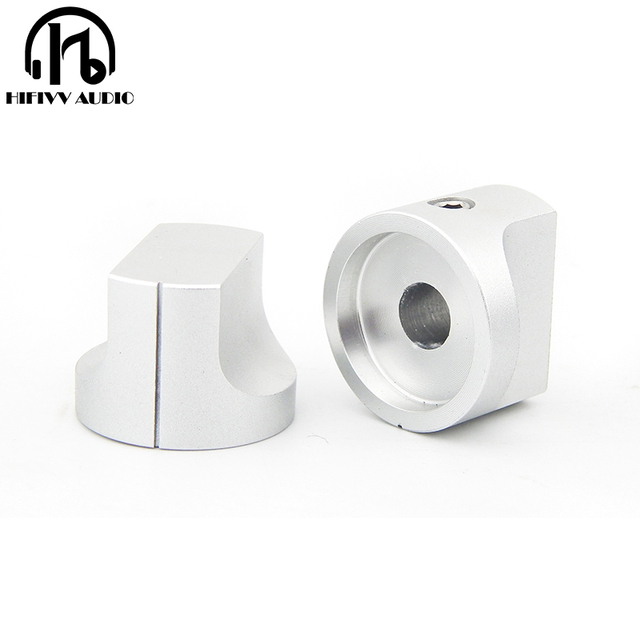 HIFI אודיו amp אלומיניום נפח ידית 1pcs קוטר 20mm גובה 15mm מגבר פוטנציומטר knob