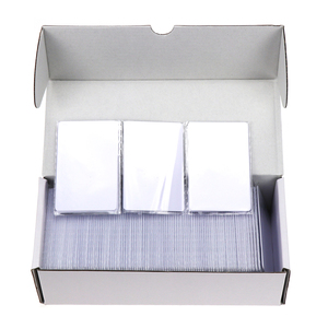 Image 1 - 1000pcs/Lot RFID Card 13.56Mhz IC Cards MF S50 Classic 1K M1 Proximity Smart 0.8mm For Access Control System ISO14443A