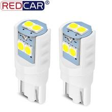 2 pezzi T10 W5W lampadina a LED 194 168 ceramica 3030 SMD lettura cupola lampada cuneo sostituzione strumento inverso liquidazione lampada automatica DC 12V