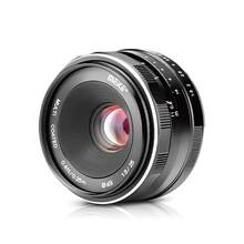 Obiektyw ręczny Meike 25mm f1.8 o dużej aperturze do aparatów Olympus Micro 4/3 EM10 Mark ii/EM5/EM1/EP5/EPL3 i Panasonic Lumix G7