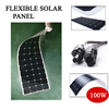 Hot Sale 100w 200w flexible solar panel 18V for 12V solar battery charger monocrystalline solar cell panel solar home system kit 1