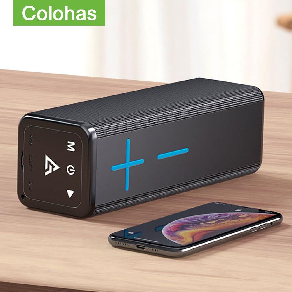 Wireless Portable Outdoor Speaker Mini Bluetooth Soundbar Column Speaker For Computer Laptop Phone Power Bass Sound Box Speaker