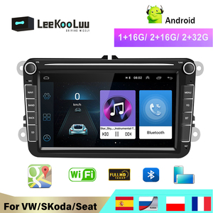 LeeKooLuu Car Multimedia player Android GPS 2 Din Car Autoradio Radio For VW/Volkswagen/Golf/Polo/Passat/b7/b6/SEAT/leon/Skoda