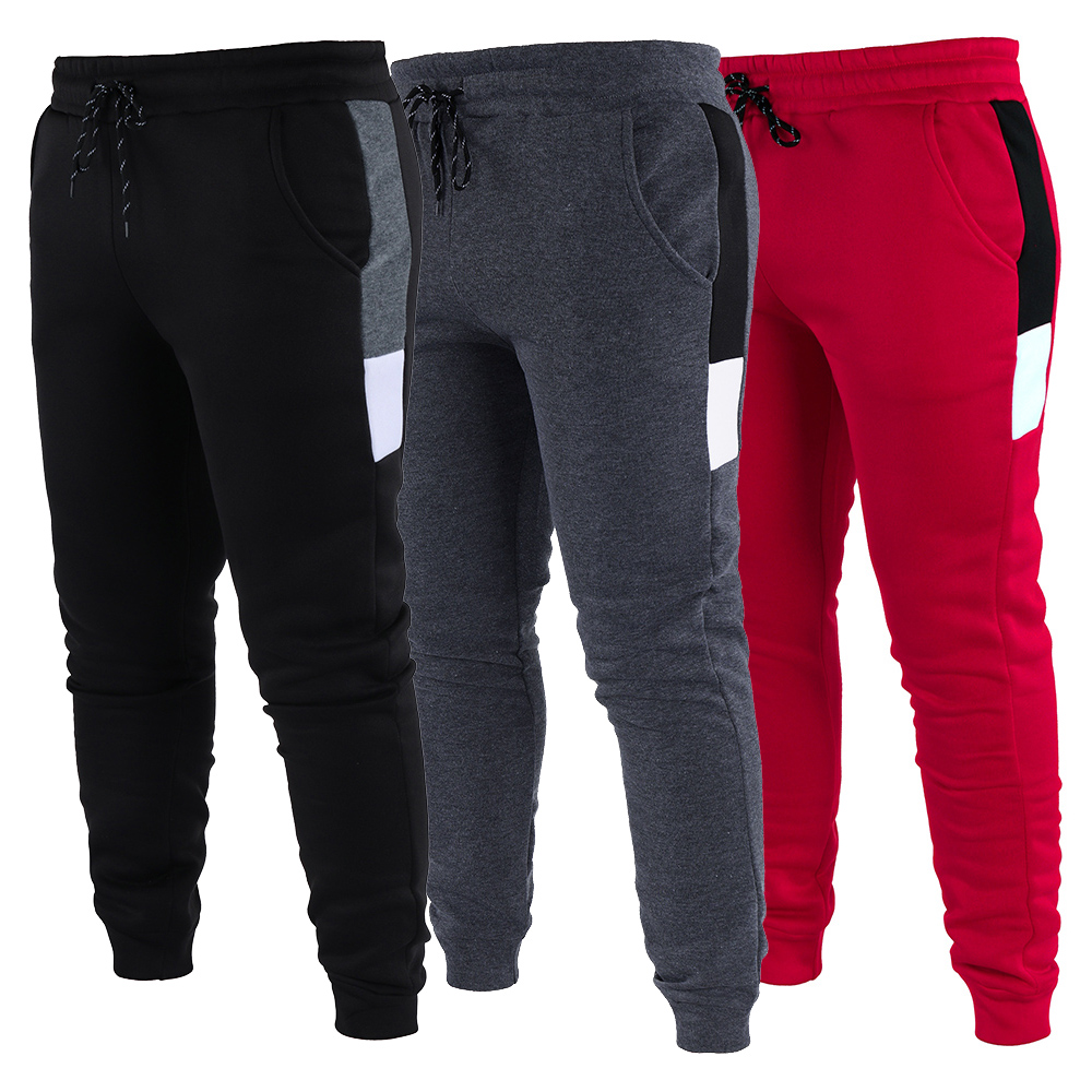 Trousers Tracksuit Harem-Pants Jogger Baggy-Lined Winter Plus-Size Casual Warm Fleece title=