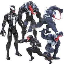 Hot Avengers Figure Venom Titan Hero Series Venom PVC Action Figure Black Spider man Ant-man Collectible Model Dolls Toys цена 2017