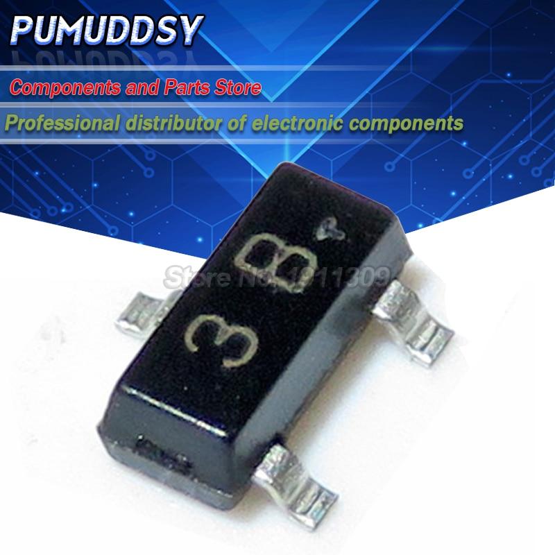 100 шт. BC856B 3B SOT23 BC856 SMD SOT-23 Новый транзистор IC