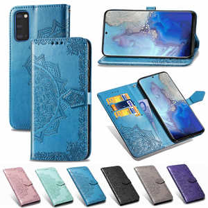 For samsung Galaxy s20 Ultra case leather Embossed Flip wallet Case samsun s20 plus s20+