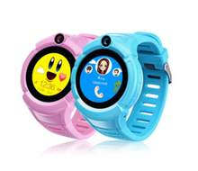 Q360 Kids SOS Anti-Lost Monitor Tracker baby WristWatch Smart Watch with Camera GPS WIFI Location Child smartwatch(China)
