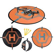 цена на New Hot Landing Pad Helipad Foldable For Dji Phantom 4 3 Mavic Pro Drone Rc Quad Copter