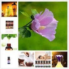 Gorąca sprzedaż olejek do aromaterapii drzewo herbaciane pomarańczowa róża mięta pieprzowa werbena trawa cytrynowa 100% czysty zimny olejek do masażu 10ML