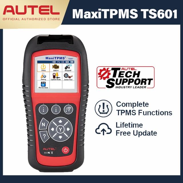 AUTEL MaxiTPMS TS601 진단 도구 자동차 TPMS 도구 OBD2 스캐너 자동차 도구 활성화 타이어 센서 TPMS 프로그래머 코드 리더