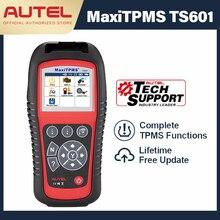 AUTEL MaxiTPMS TS601 outil de Diagnostic de voiture, TPMS, prise OBD2, Scanner automobile, capteur de pneu, programmateur TPMS