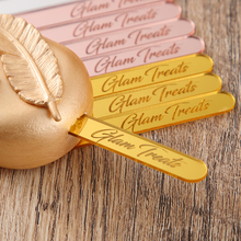 Ice-Cream-Sticks Decoratio Baking Baby Shower Acrylic Birthday Custom Cakesicle Personalized Names