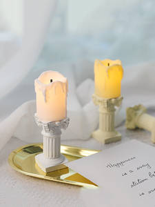 Candle Background Shooting-Props Photo-Studio Fotografia Mini for INS Adornment Simulation