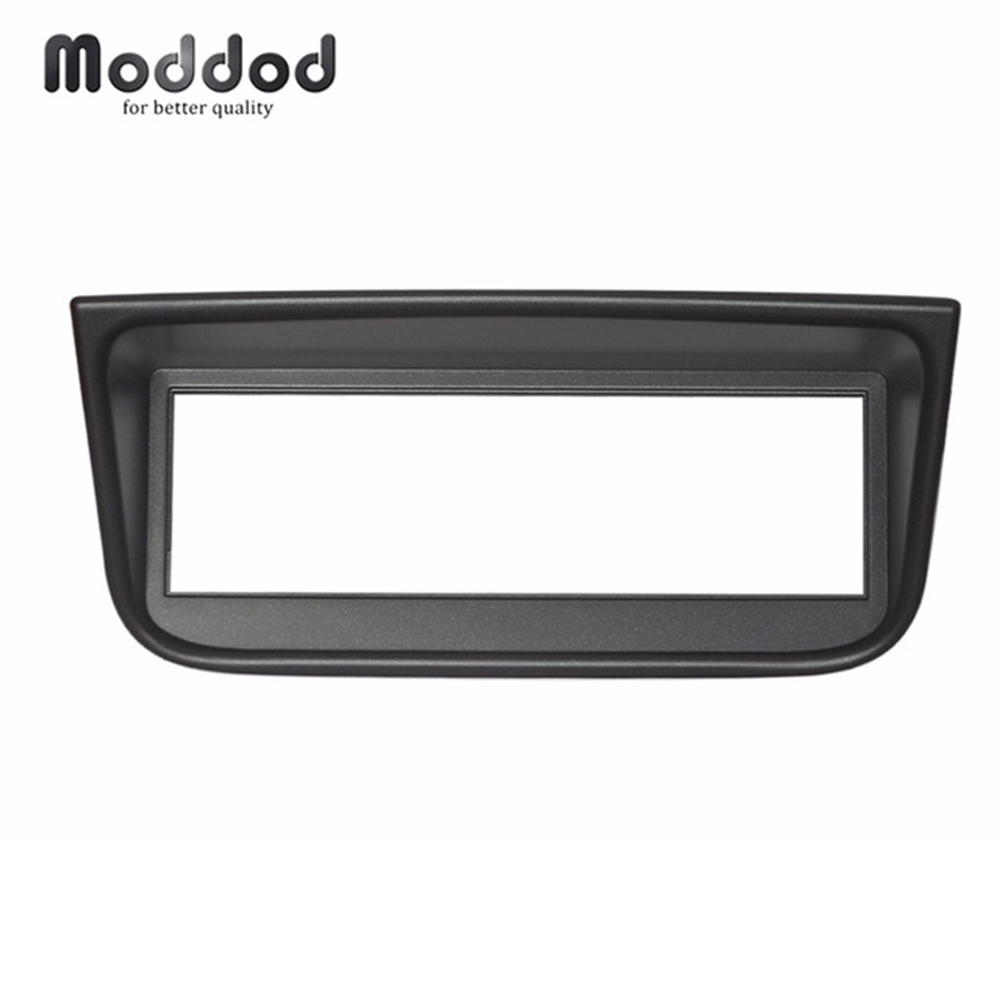 One Din Audio Fascia <font><b>for</b></font> <font><b>Peugeot</b></font> <font><b>406</b></font> Stereo Radio <font><b>GPS</b></font> DVD Panel Dash Mount Installation Trim Kit Frame image