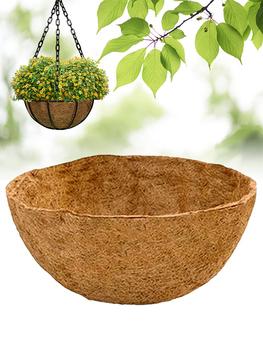 Kosz na rośliny okrągły mata kokosowa tkanina ogrodowa wkład kokosowy na wiszący kosz sadzarka wiszący kosz doniczka do sadzenia na gorąco tanie i dobre opinie CN (pochodzenie) Other Kosz wkładki flower pot Flower Green Plant coconut shell fiber and non-woven fabric