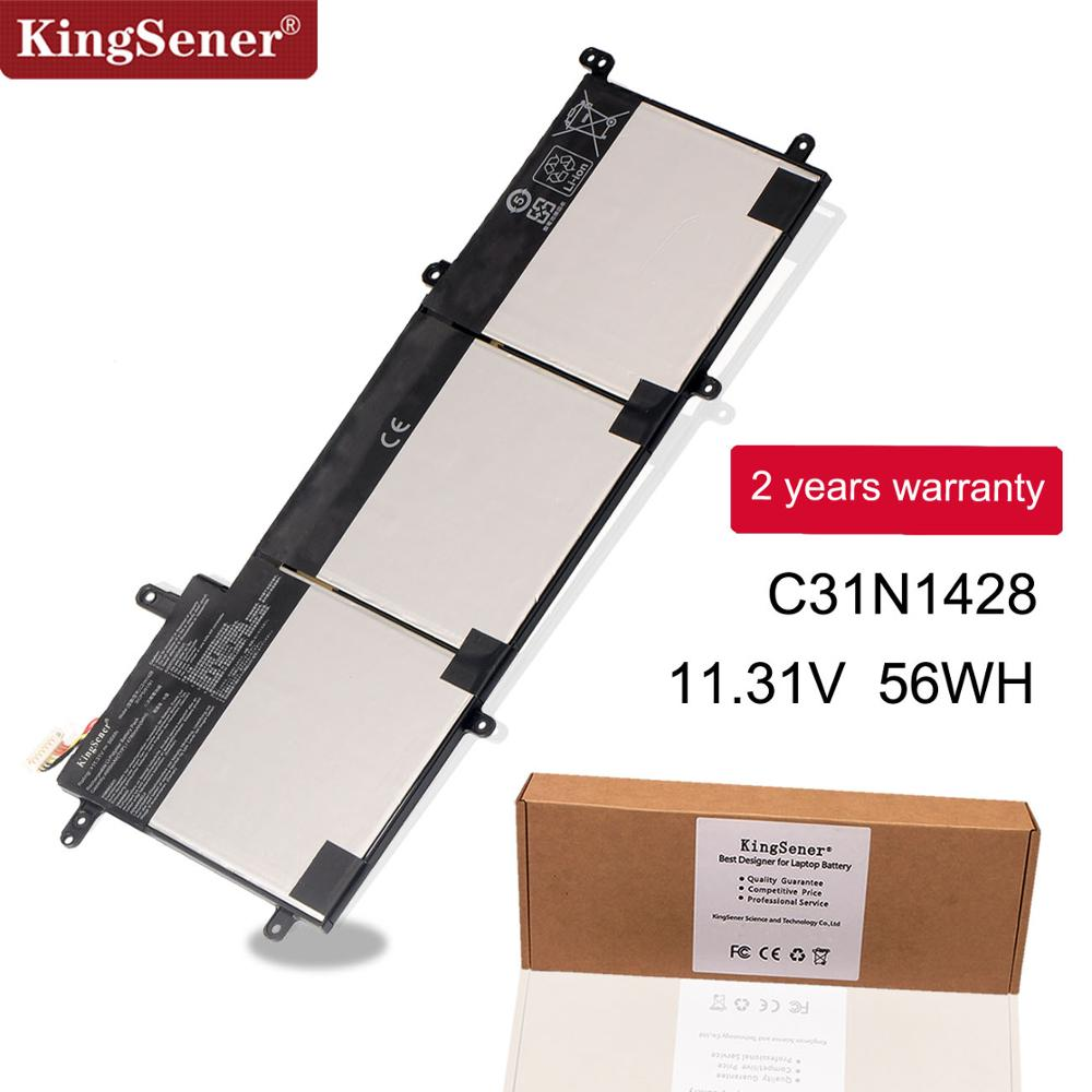 KingSener New C31N1428 Laptop Battery For ASUS Zenbook UX305L UX305LA UX305UA C31N1428 3ICP5/91/91 11.31V 56WH