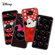Disney Minnie Bow สำหรับ Xiaomi Poco X3 NFC M2 X2 F2 F3 C3 M3 F1 Pro Mi Play Mix 3 a3 A2 A1 6 Lite Soft Case