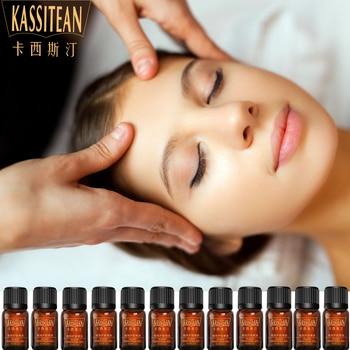 Jasmine Essential Oils 10ML Massage Rose Peppermint Peppermint Lemon Calendula Rosemary Cherry blossoms Lavender Chamomile oil недорого