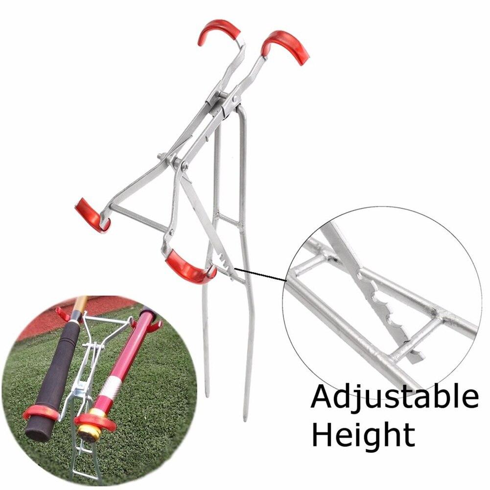 Adjustable Double Pole Bracket Practical Fishing Rod Holder Foldable Fish Tool New