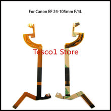 10 шт. Фирменная Новинка объектив IS USM для Canon EF 24-105mm F/4L IS USM Диафрагма объектива гибкий кабель, запчасти для ремонта