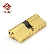 HILUKE 70mm classic European standard lock core promotion safety door copper alloy hardware C70.3T