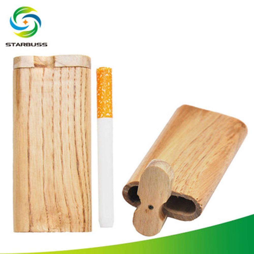 Wooden cigarette cas…