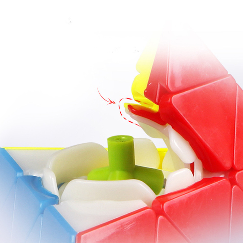 Qiyi 4x4x4 Pyramid Speed Cube QIYI Pyramid 4×4 Puzzle Magic 4×4 Puzzle Pyramid cube Children Education Toys img5