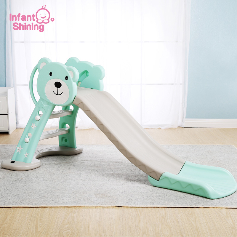 Infant Shining Kids Slide Toy Baby Room Slides for Kids Foldable Slide for Kids Indoor Game