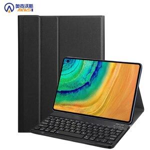Беспроводной чехол с клавиатурой для huawei matepad Pro 10,8, 2019, планшет с bluetooth, кожаный чехол для huawei matepad pro 10,8 дюймов