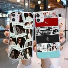 Lana Del Rey lujuria por la vida Del teléfono caso, iPhone 6 iPhone 11 12 mini pro XS MAX 8 7 6 6S Plus X 5S SE 2020 XR